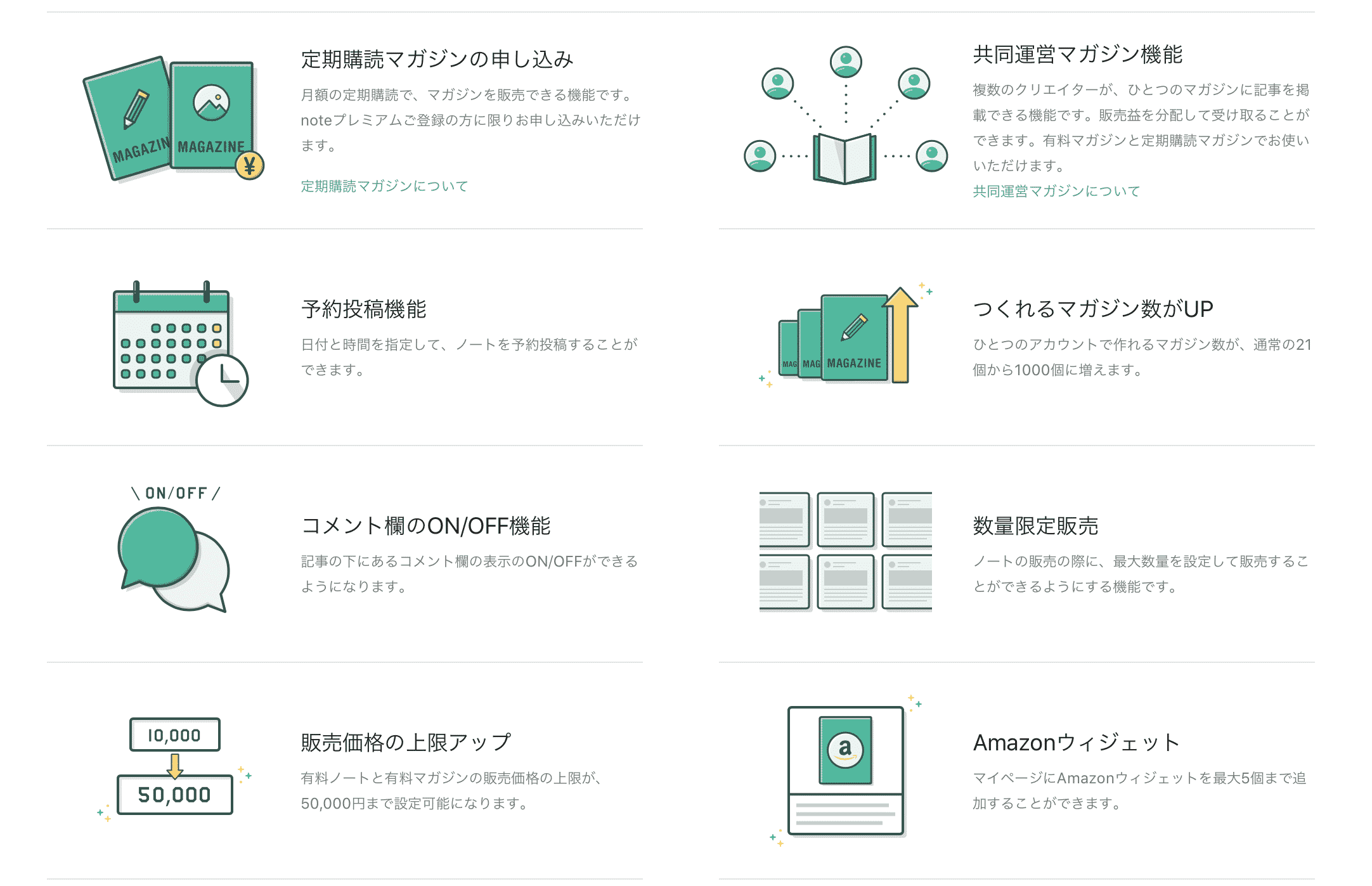 note(ノート)の基本情報
