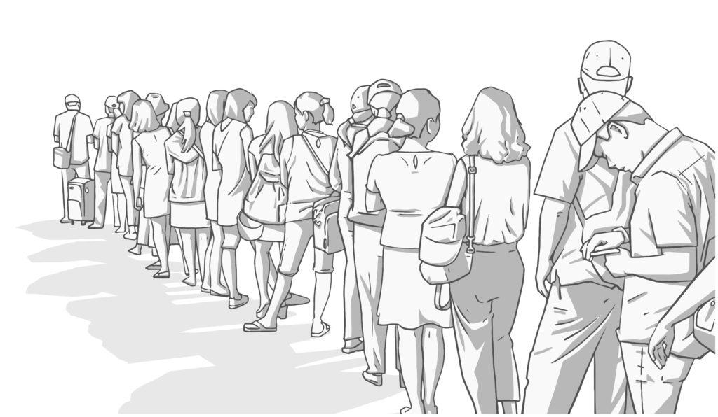 【副業紹介#62】行列並び代行で稼ぐ方法は|特徴・評判・メリット・デメリット